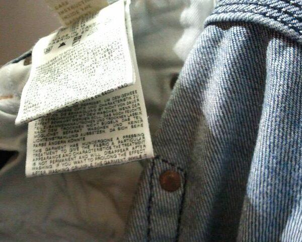 Etichetta abbigliamento Sublimatica
